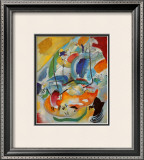 Improvisation No. 31, Sea Battle, c.1913 Print by Wassily Kandinsky
