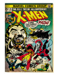 Marvel Comics Retro: The X-Men Comic Book Cover 94, Colossus, Nightcrawler, Cyclops (aged) Prints