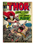 Marvel Comics Retro: The Mighty Thor Comic Book Cover No.128, Hercules (aged) Prints