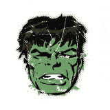 Marvel Comics Retro: The Incredible Hulk (aged) Poster