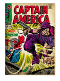 Marvel Comics Retro: Captain America Comic Book Cover 108, the Trapster (aged) Posters