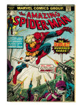 Marvel Comics Retro: The Amazing Spider-Man Comic Book Cover No.153 (aged) Prints