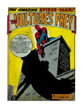 Marvel Comics Retro: The Amazing Spider-Man Comic Panel, the Vulture's Prey (aged) Prints
