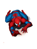 Spider-Man Crawling Print