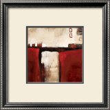 Red Trestle Print by L. Austin