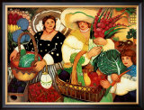 Farmer's Market Poster by Linda Carter Holman