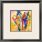 Jazz Explosion I Prints by Alfred Gockel