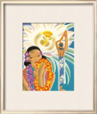 The Offering Framed Giclee Print by Frank MacIntosh
