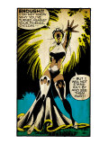 Marvel Comics Retro: X-Men Comic Panel, Storm (aged) Prints
