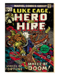 Marvel Comics Retro: Luke Cage, Hero for Hire Comic Book Cover No.11 (aged) Posters