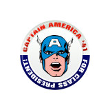 Marvel Comics Retro: Captain America '41 for Class President (aged) Poster