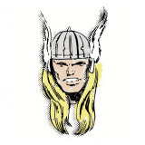 Marvel Comics Retro: The Mighty Thor (aged) Kunstdrucke