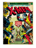 Marvel Comics Retro: The X-Men Comic Book Cover 100, Professor X (aged) Art