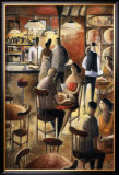 Cafe Prints by Didier Lourenco