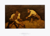 The Reapers, c.1922 Prints by Albin Egger-lienz