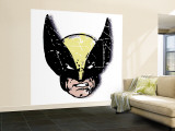 Marvel Comics Retro: Wolverine (aged) Premium Wall Mural (Large)