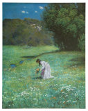 Meadow in the Forest, c.1876 Art by Hans Thoma