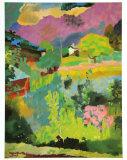 Garden at Stampa, c.1946 Kunstdrucke von Augusto Giacometti