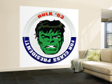 Marvel Comics Retro: The Incredible Hulk '63 for Class President (aged) Wall Mural – Large