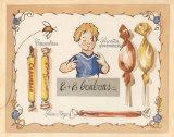 2 + 2 Bonbons Posters by Pascal Cessou
