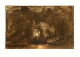 Rest on the Flight into Egypt Collectable Print by  Rembrandt van Rijn