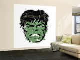 Marvel Comics Retro: The Incredible Hulk (aged) Premium Wall Mural (Large)