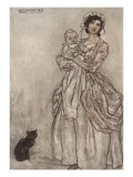 Rip's Daughter And Grand-Child Prints by Arthur Rackham