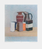 Still Life with Jug and Bottle Collectable Print by Giorgio Morandi