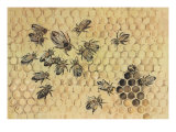 Peggy Visits The Bees Prints by Eileen Soper