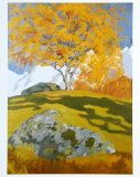 Autumn, c.1903 Prints by Giovanni Giacometti