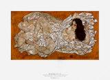 Recliining Woman, c.1917 Prints by Egon Schiele