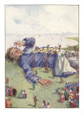 Illustration From Gulliver&#39;s Travels Of Lilliputians Attacking Posters by Honor Appelton