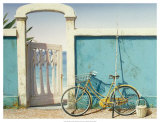 Beach Bike Prints by D.k. Gifford