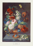 Flowers in the Summer Collectable Print by Martin Fromhold
