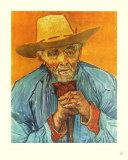 The Peasant Samlertryk af Vincent van Gogh