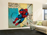 Marvel Comics Retro: The Amazing Spider-Man Comic Panel (aged) Wall Mural – Large