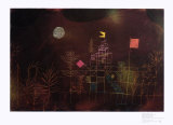 Flagged Pavilion Prints by Paul Klee