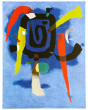 Bluxao V, c.1955 Lminas por Willi Baumeister