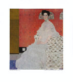 Portrait of Fritza Riedler Collectable Print by Gustav Klimt