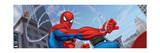 Spider-Man and Kraven the Hunter Fighting in the City Prints