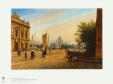Berlin: View of the Pleasure from the Garrison Headquarters Collectable Print by Wilhelm Bruecke