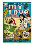 Marvel Comics Retro: My Love Comic Book Cover No.16, Tennis, Pathos and Passion (aged) Posters