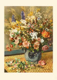 A Country Bunch Samlertryk af Pierre-Auguste Renoir