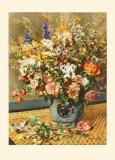 A Country Bunch Lámina coleccionable por Pierre-Auguste Renoir