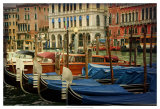 Venetian Canals IV Poster by Danny Head