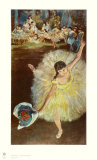 End of the Arabeske Collectable Print by Edgar Degas