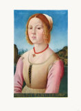 Portrait of a Young Girl, Noli Me Tangere Collectable Print by Lorenzo Credi