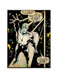Marvel Comics Retro: Silver Surfer Comic Panel (aged) Kunstdrucke