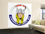 Marvel Comics Retro: The Mighty Thor '62 for Class President (aged) Premium Wall Mural (Large)