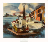 The Steamer Collectable Print by Peter Blume